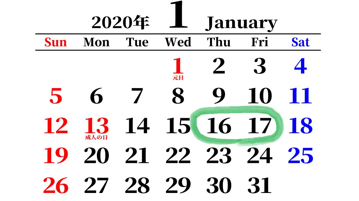2020年1月16日~17日のトレード成績・良かった点・反省点など